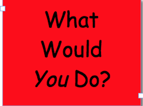What Would You Do1
